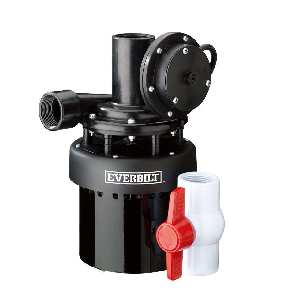 Everbilt 1 3 Hp Utility Sink Pump Lts250a The Home Depot Utility Sink Sump Pump Laundry Sink