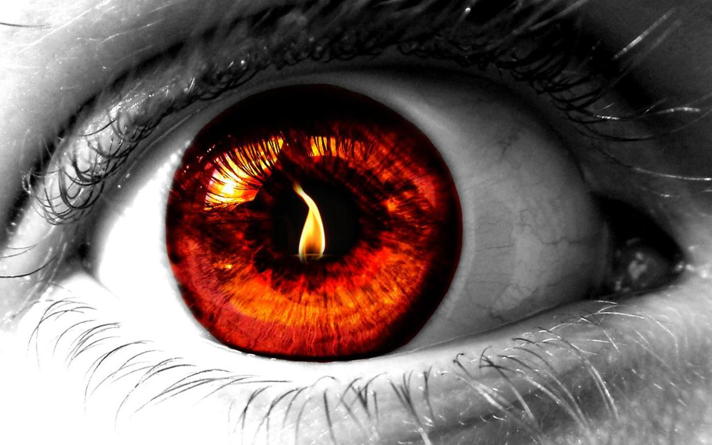 Looking Fire In The Eye A Collection Of Christian Articles Eyes Wallpaper Eye Art Red Eyes
