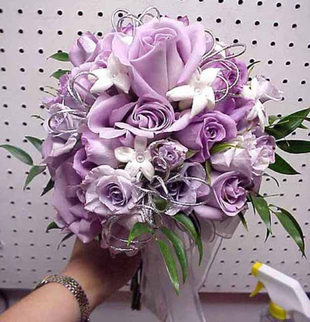 Purple flower bouquets here we have a lovely bouquet of lavendar purple flower bouquets here we have a lovely bouquet of lavendar rose with small white izmirmasajfo Gallery