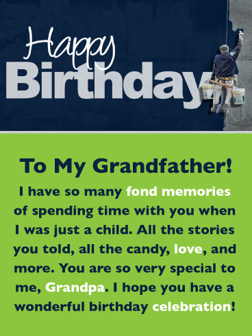 Download Many Fond Memories Happy Birthday Card For Grandfather Birthday Greeting Cards By Davia Happy Birthday Fun Grandfather Birthday Happy Birthday Wishes Messages