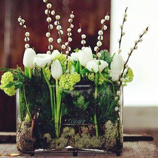 #flowers #inspiration #bouquet #tulips #green #flower_inspiration
