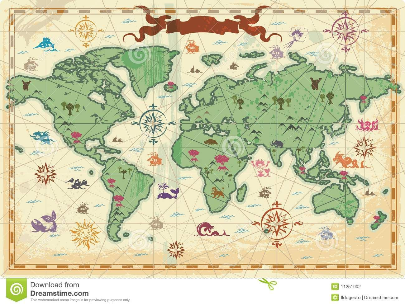 ancient world map google search