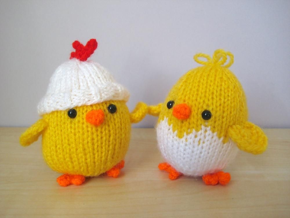 Eggy Chicks | Knitting | Pinterest | Dos agujas, Tejido y Animales