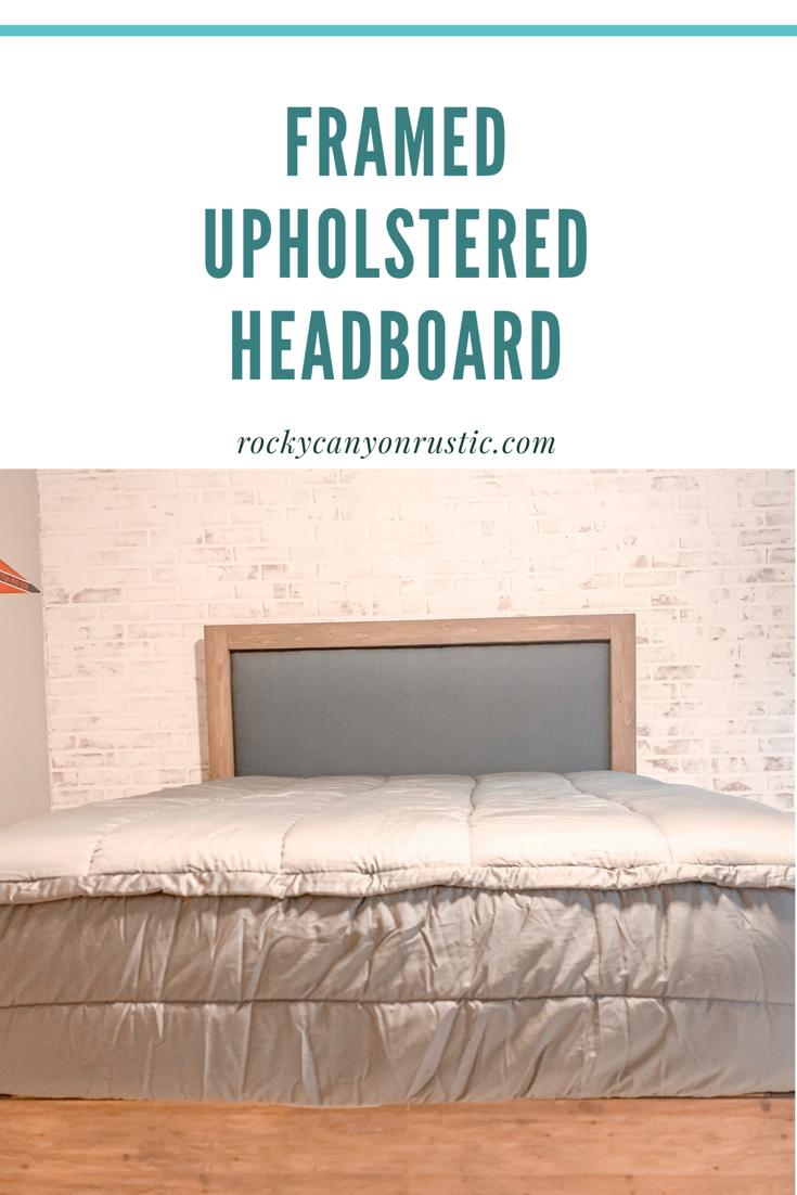 Easy Diy Upholstered Headboard With Wood Frame Upholstered