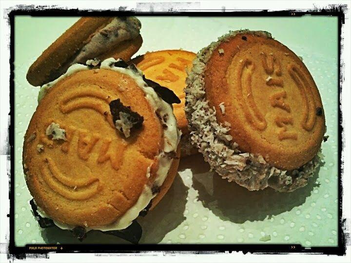 Un dolce profumo: Gelato biscotto express!
