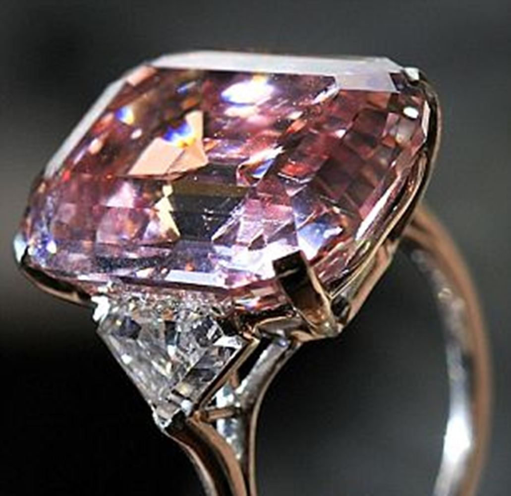Pink Diamond Engagement Rings For Women Hd  Fashion Rings For Woman