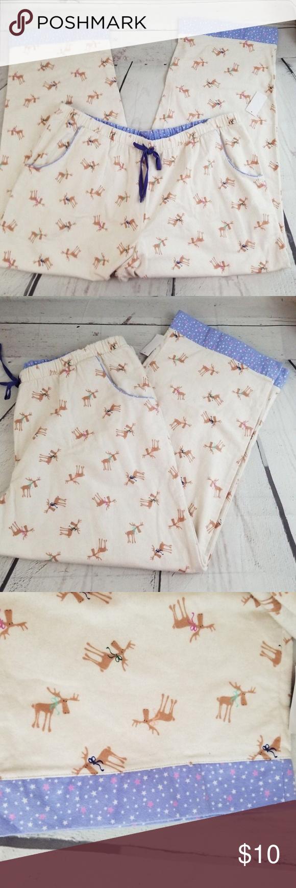 Joe boxer reindeer 2x christmas pajama pants Boutique | Pinterest ...