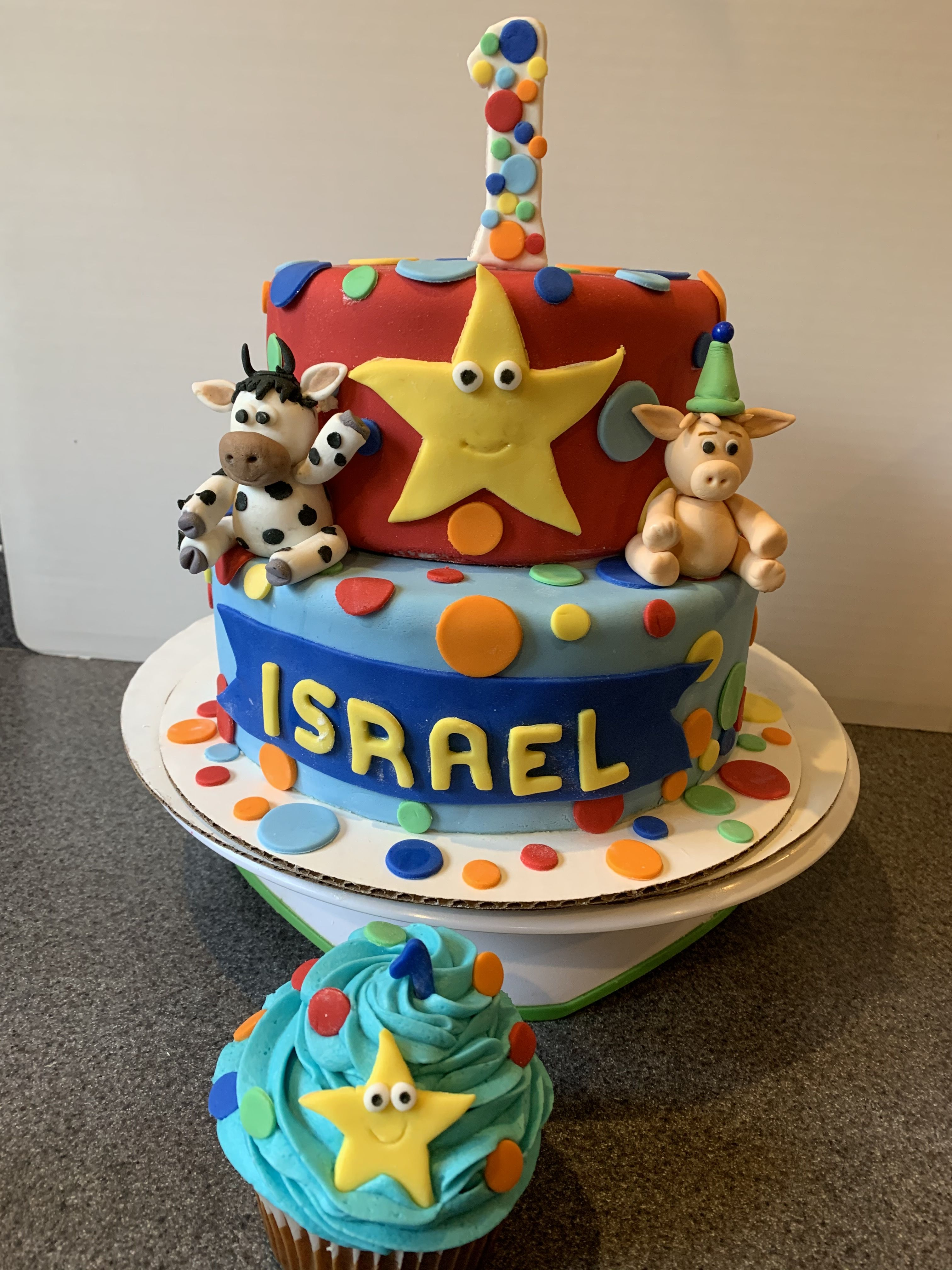 Pin by betty's cakes on Birthday cakes/cupcakes in 2020