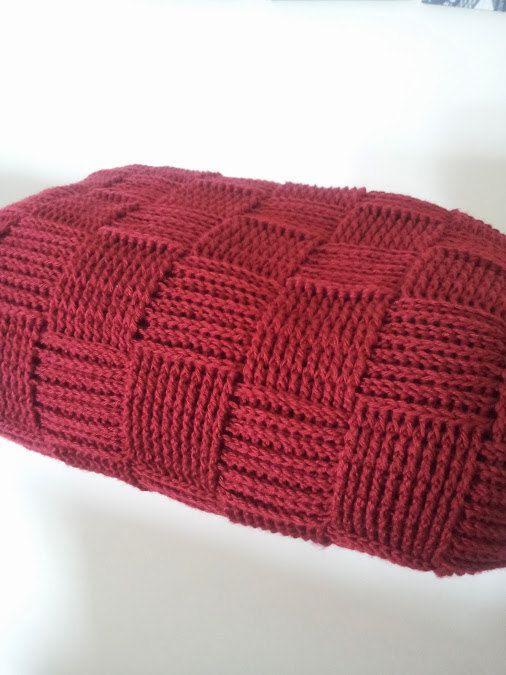 Crocheted blanket Basket weave crocheted throw afghan blanket home ...
