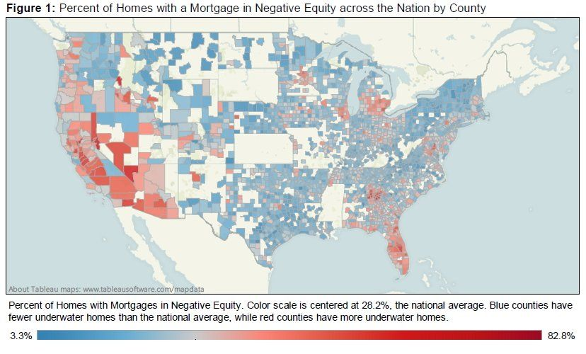 MAP: Here's Where You'll Find America's Underwater Homeowners ... on zillow sold homes, kiro 7 map, home depot map, google earth map, zillow homes values estimates, zillow homes for rent, zillow real estate, zillow maps neighborhood, zillow search by map, what's my house value map, zillow badge, zillow map view, zillow find neighborhood, zillow address map, zillow street maps, real map, zillow earth, what's my home worth map, property value map, zillow zestimates,