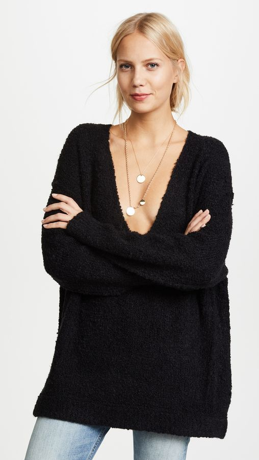 Lofty V Neck Sweater Products Pinterest