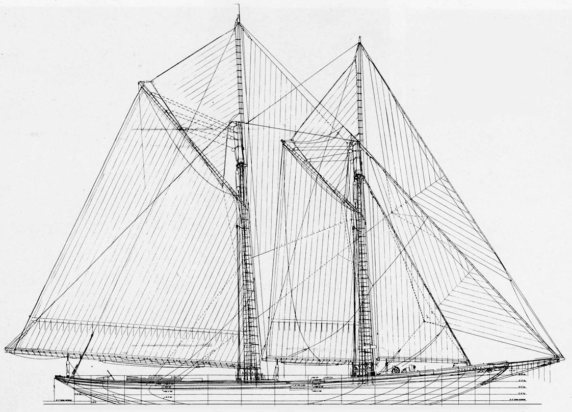 Bluenose Architecture Drawing