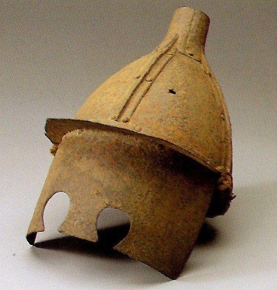 Mongolian helmet, Mongolian Invasion Historical Museum ...