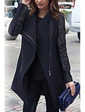 Vrouwen Tweed Splitsen Coat – EUR € 31.67