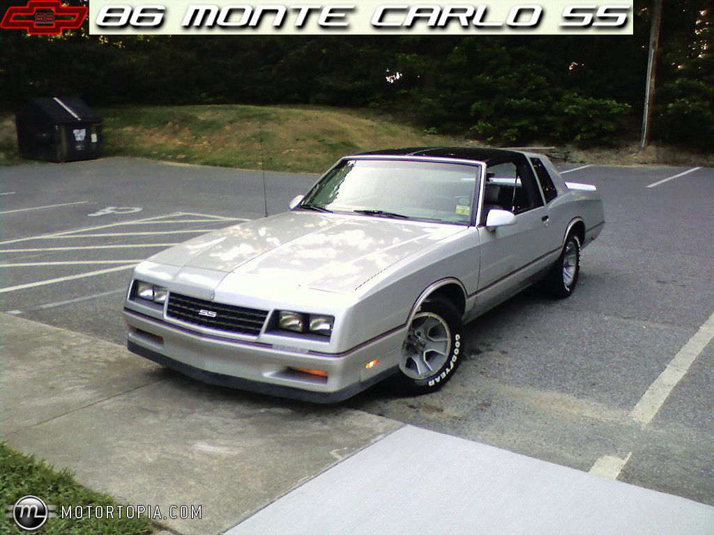Image detail for photo of a 1986 chevrolet monte carlo ss