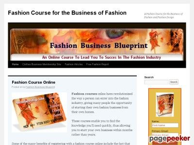 Fashion business blueprint fashion design clothing line how to explore website earn money and more fashion business blueprint malvernweather Gallery