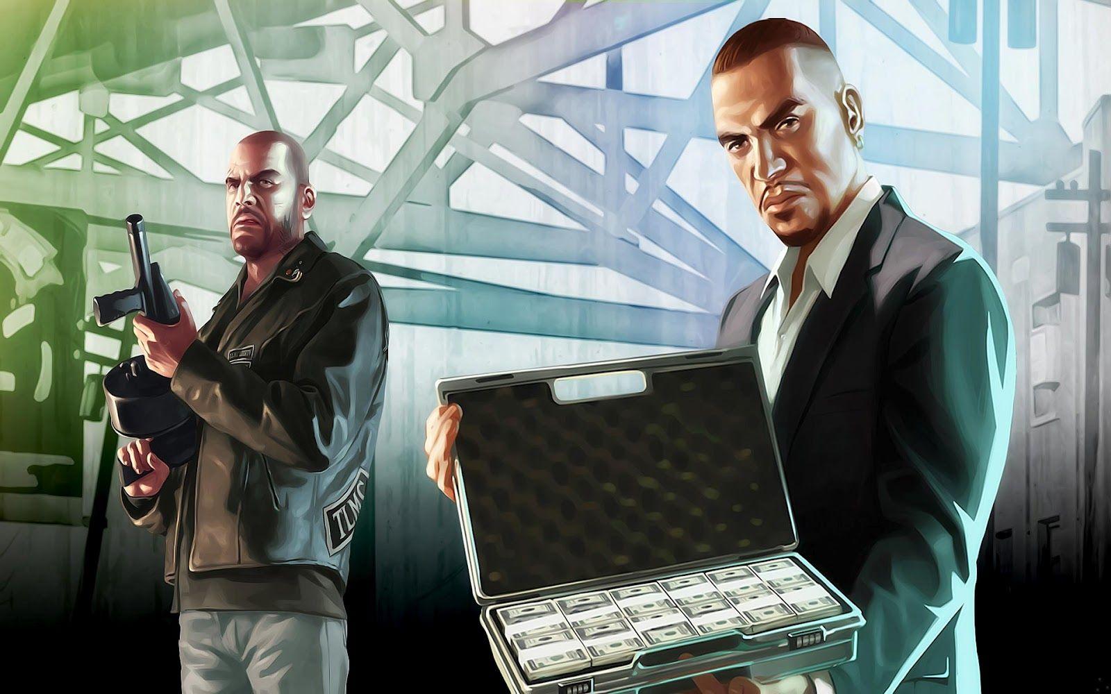 GTA IV wallpapers Grand Theft Auto IV Игры