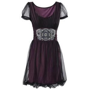 Purple Topaz Dress from the Pyramid Collection...excuse me while I pin every article of clothing they've ever sold.