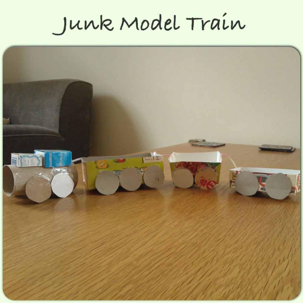 Make Your Own Train Model Craft Ideas