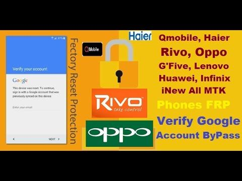 All MTK Phones Verify Google Account, FRP Bypass Without Box