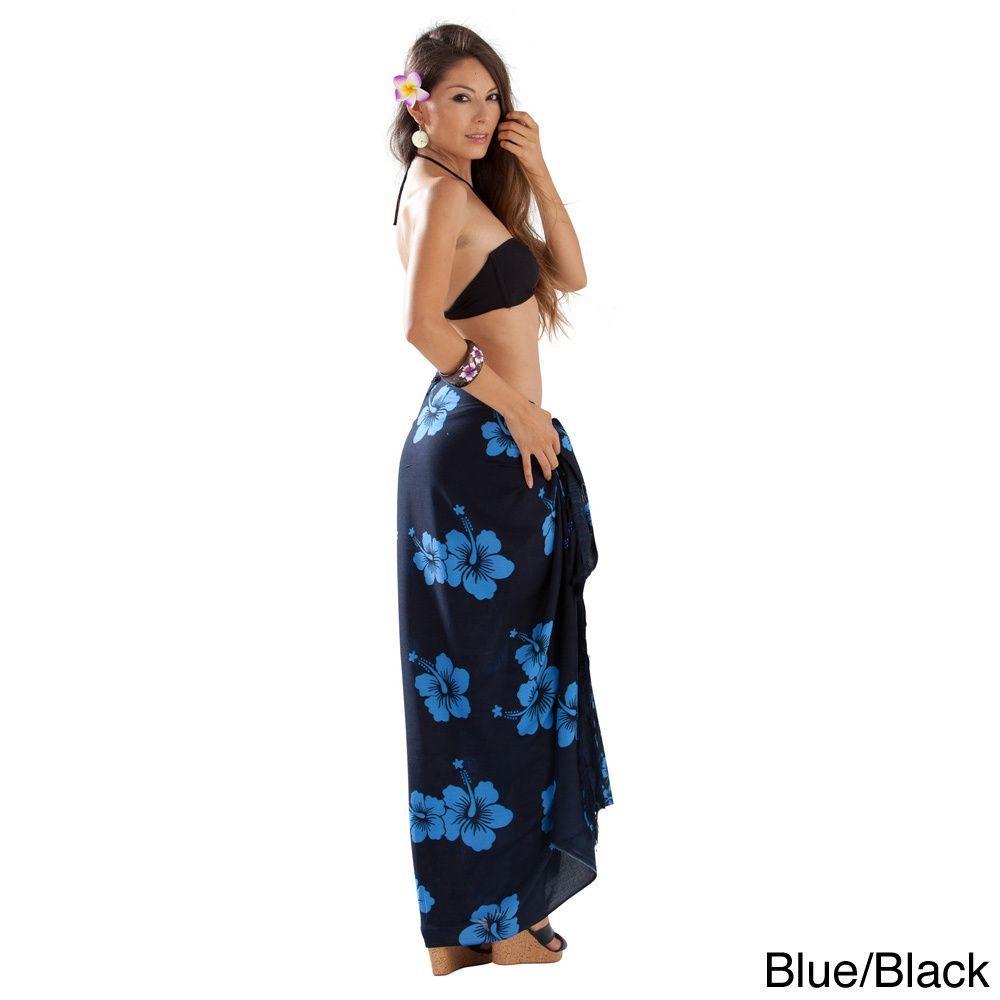world sarongs fringeless hibiscus sarong products pinterest
