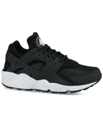 new product cad09 2ecd8 Nike Women s Air Huarache Run Running Sneakers from Finish Line - Black 5.5