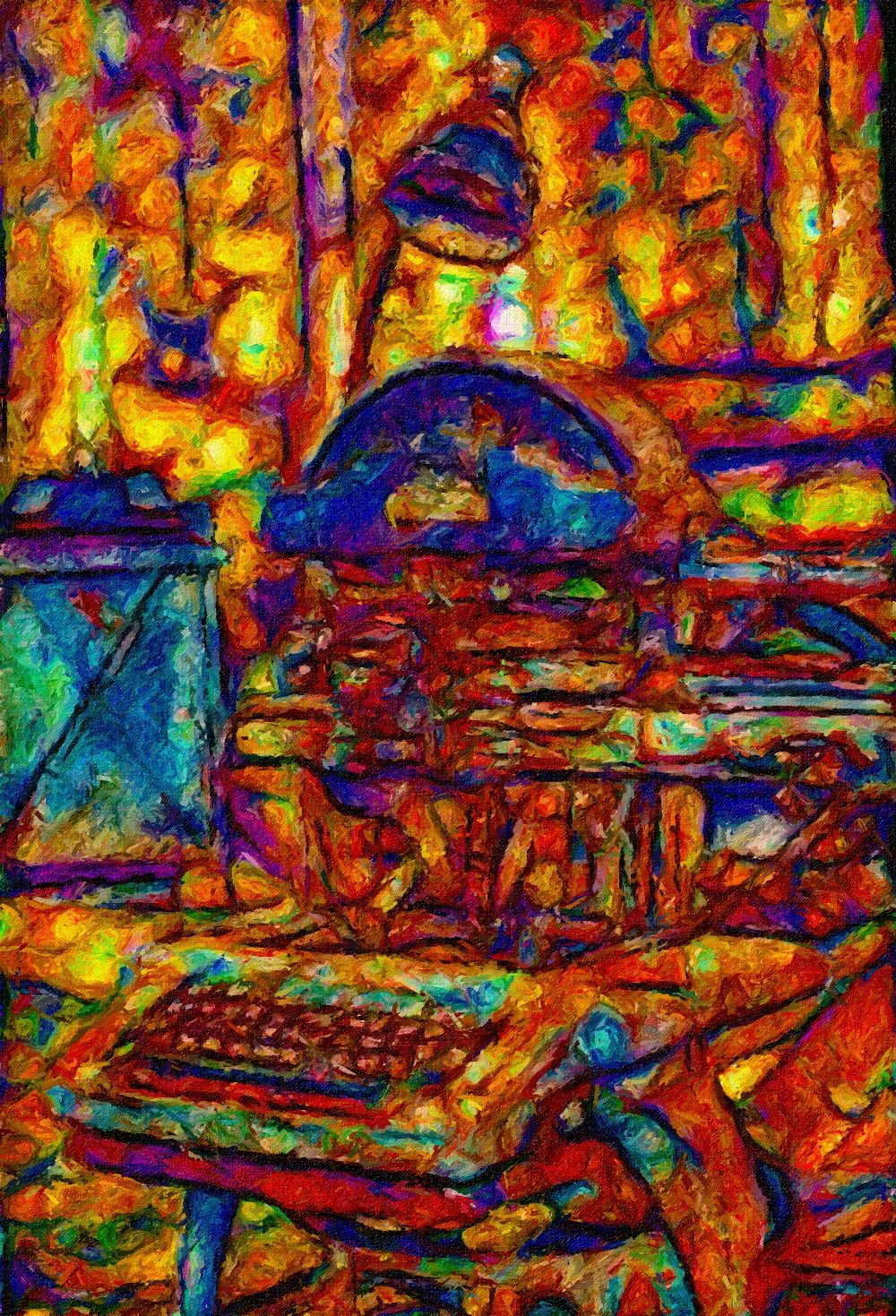 ArtRage 4, Photomanipulation with Redfield, & Alien Skin Filters, 11.2013