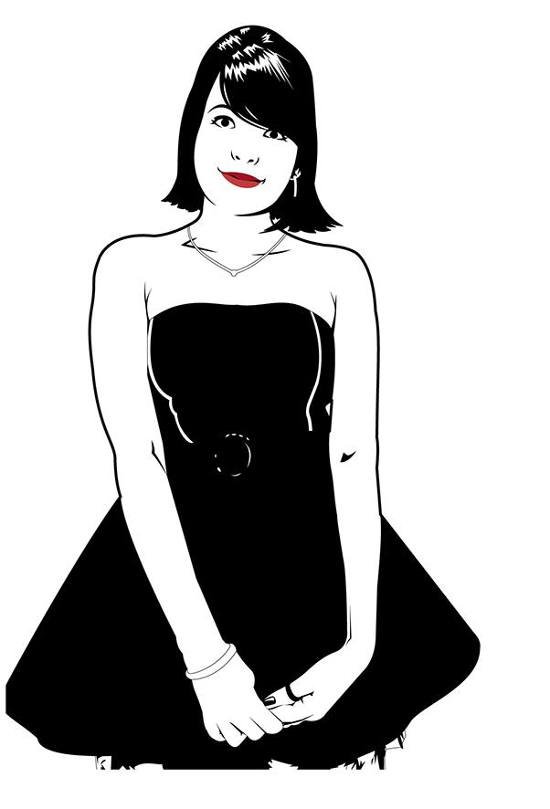 Mademoiselle Jéssica.  Illustrator, of course.