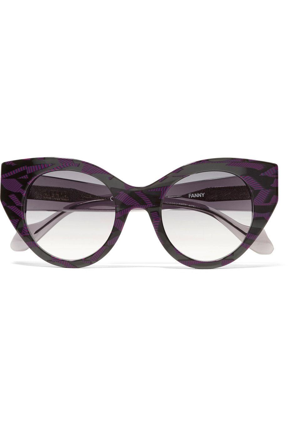 59837161f5127 FENDI Fanny cat-eye acetate sunglasses.  fendi