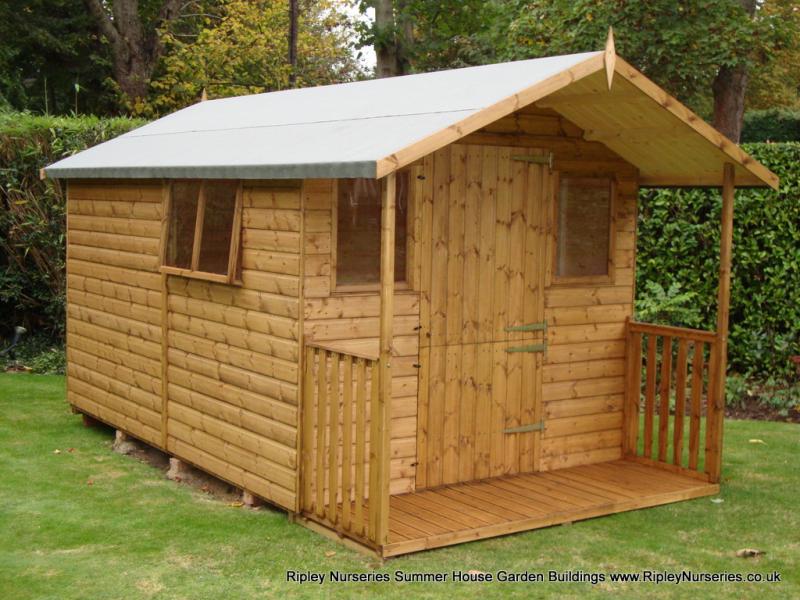 deluxe apex bespoke shed 12x8 with 26 verandah stable door - Garden Sheds Ripley