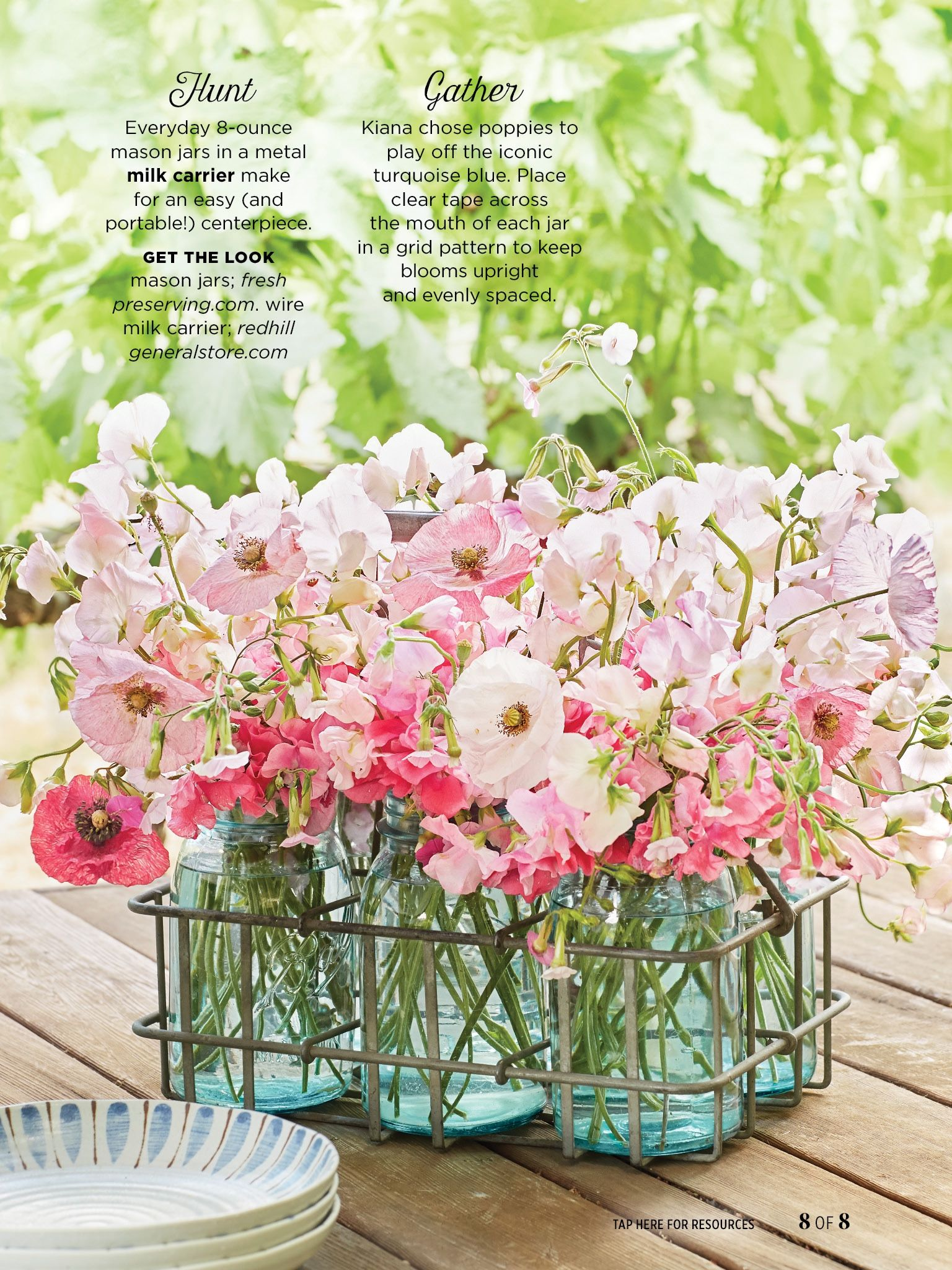 I saw this in the april issue of countryliving bit
