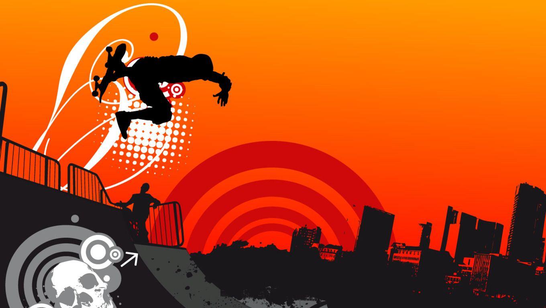 Skateboarding Wallpaper HD 1360x768 Skate 37 Wallpapers