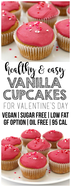 Vegan Vanilla Cupcakes Recipe Healthy Cupcake Recipes Vegan