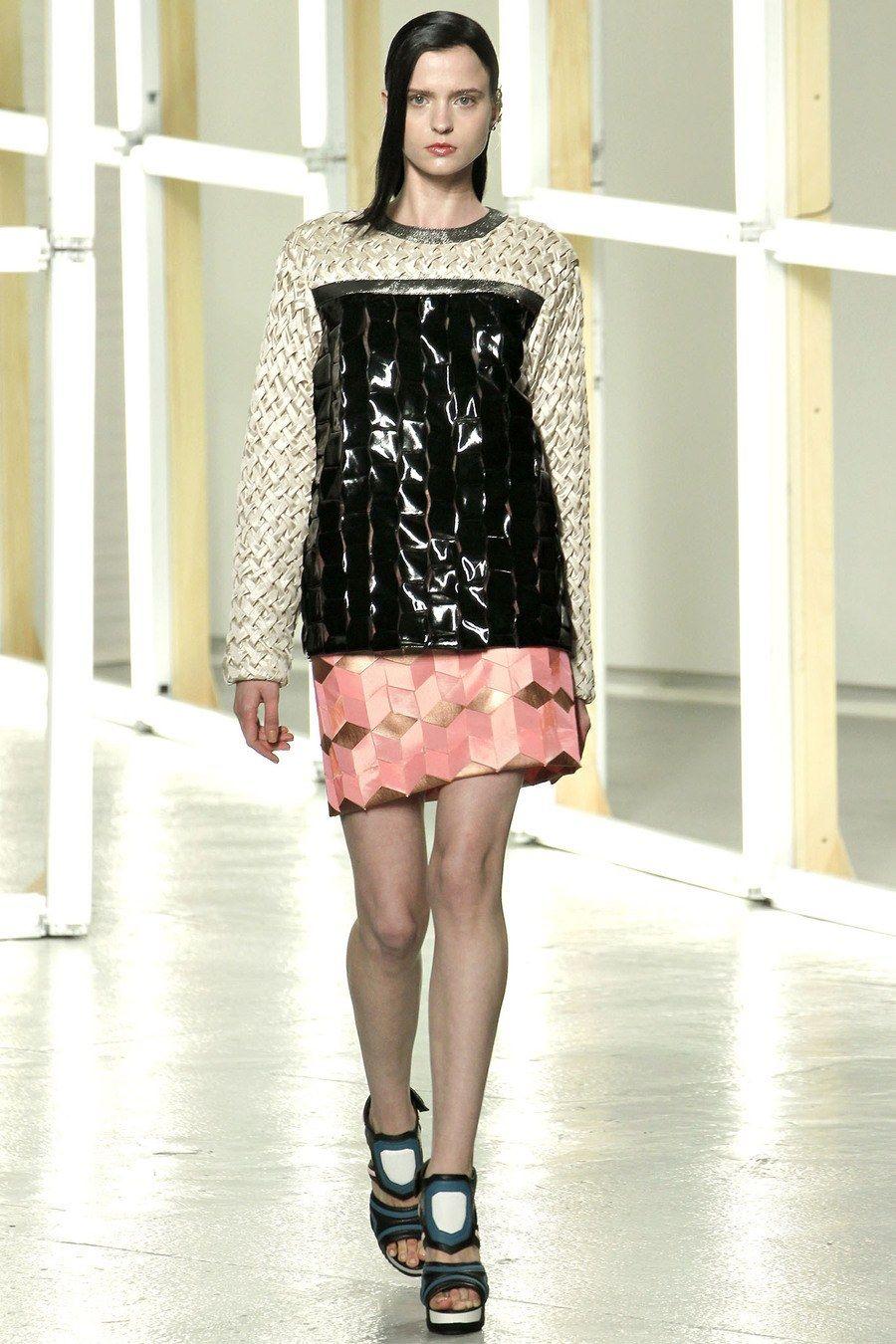 Rodarte Spring 2013 Ready-to-Wear Fashion Show - Agne Petkute