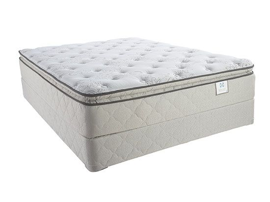 Dania Made In The Usa The Sealy Cabriolet Plush Euro Pillowtop Mattress Delivers Comfort Layers Of Excellent Quali Mattress King Size Mattress Mattress Sets