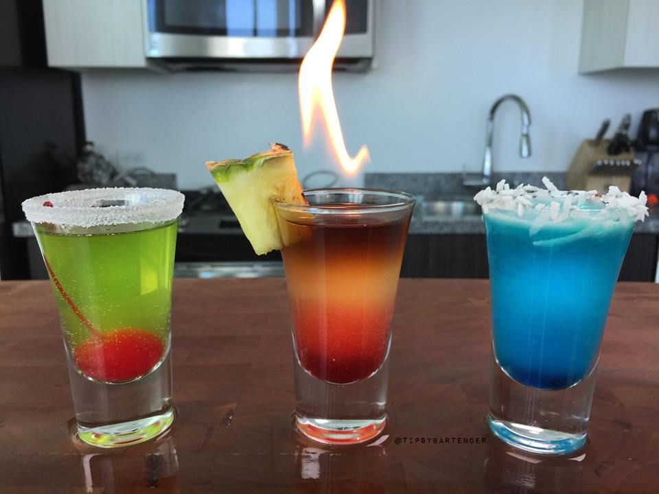 The Zombie Shot - For more delicious recipes and drinks, visit us here: www.tipsybartender.com