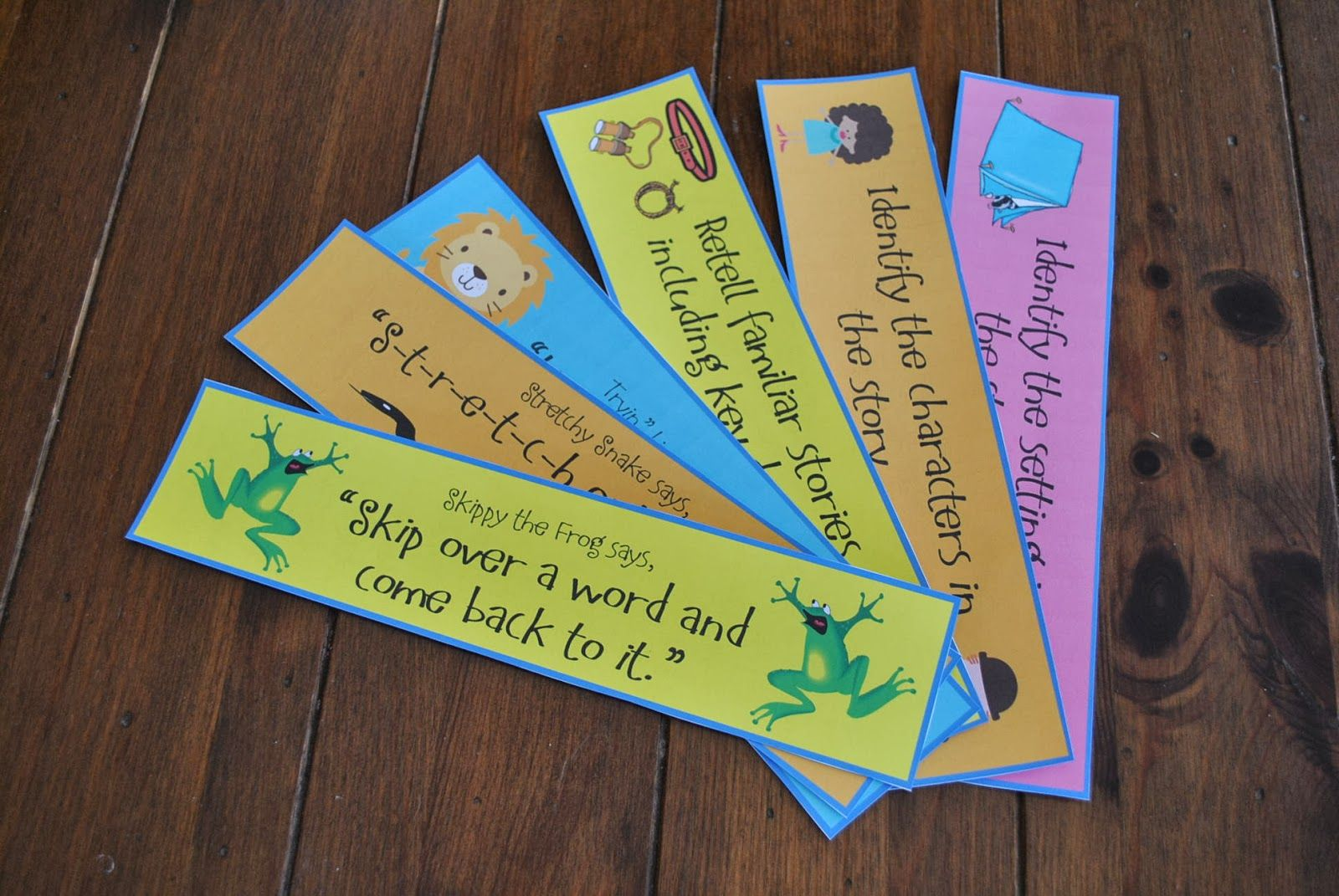 Incredible K Kids: Reading Strategies Bookmarks There's a freebie and a paid product mentioned here...check it out!