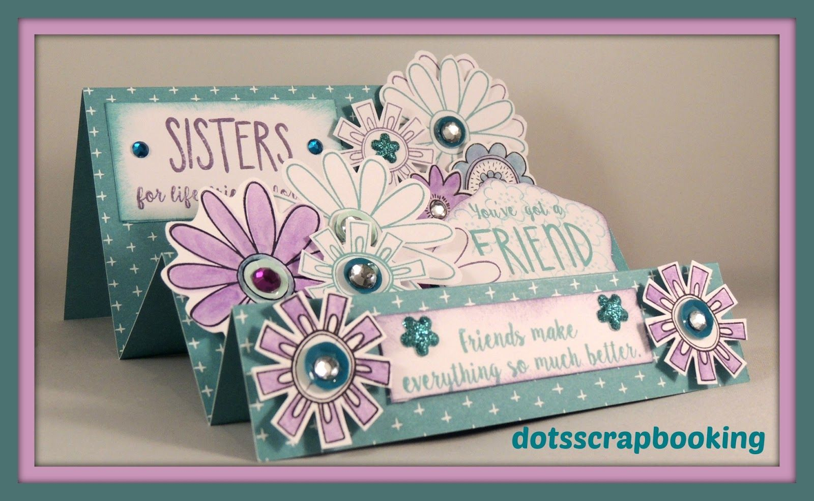 I Love This Ctmh Friend In Me Card By Dots Scrapbooking For My