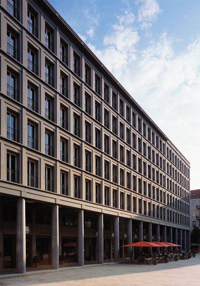 Hans Kollhoff, Housing and Commercial Building, Berlin, 2001 www.kollhoff.de/