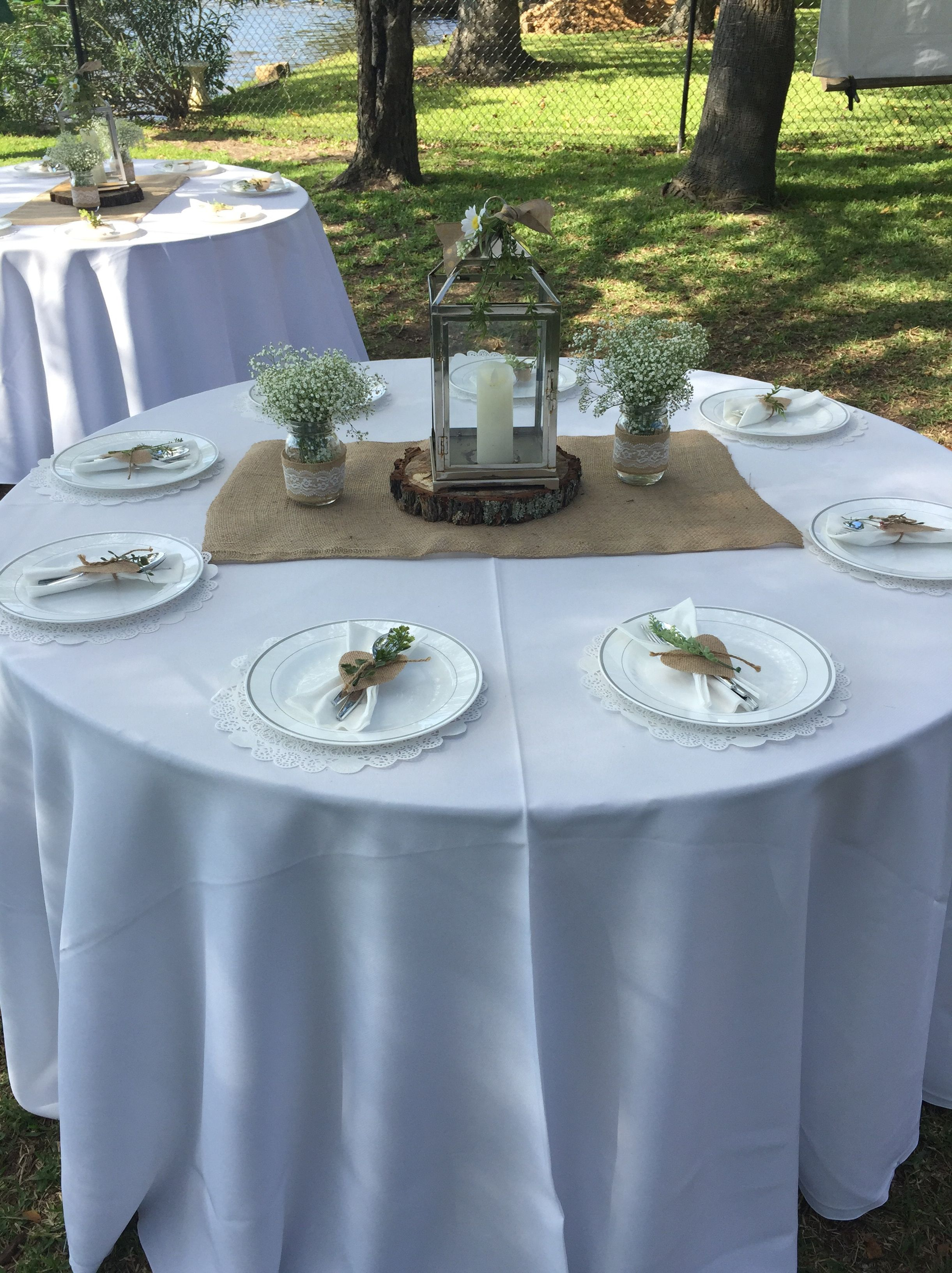 Ideas for an easy & inexpensive rustic outdoor wedding ...