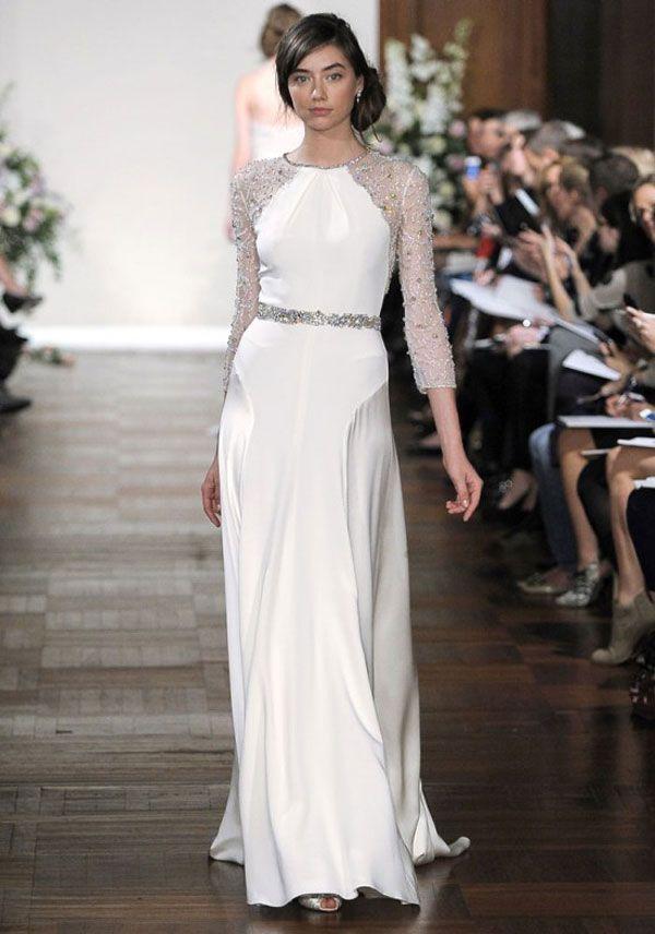Vestidos de noiva de manga comprida para o Inverno 2012-2013 ...