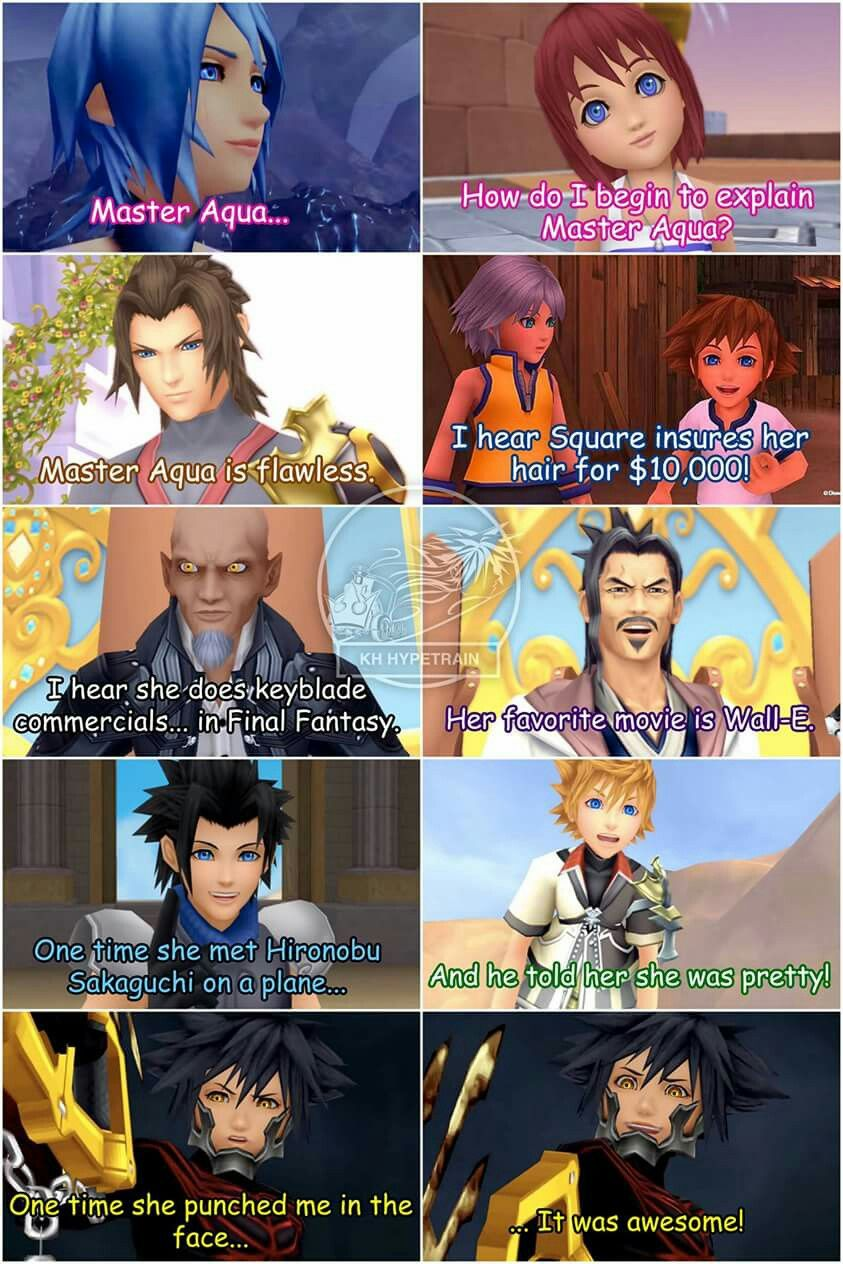 This is perfect! Kingdom Hearts/Mean girls crossover