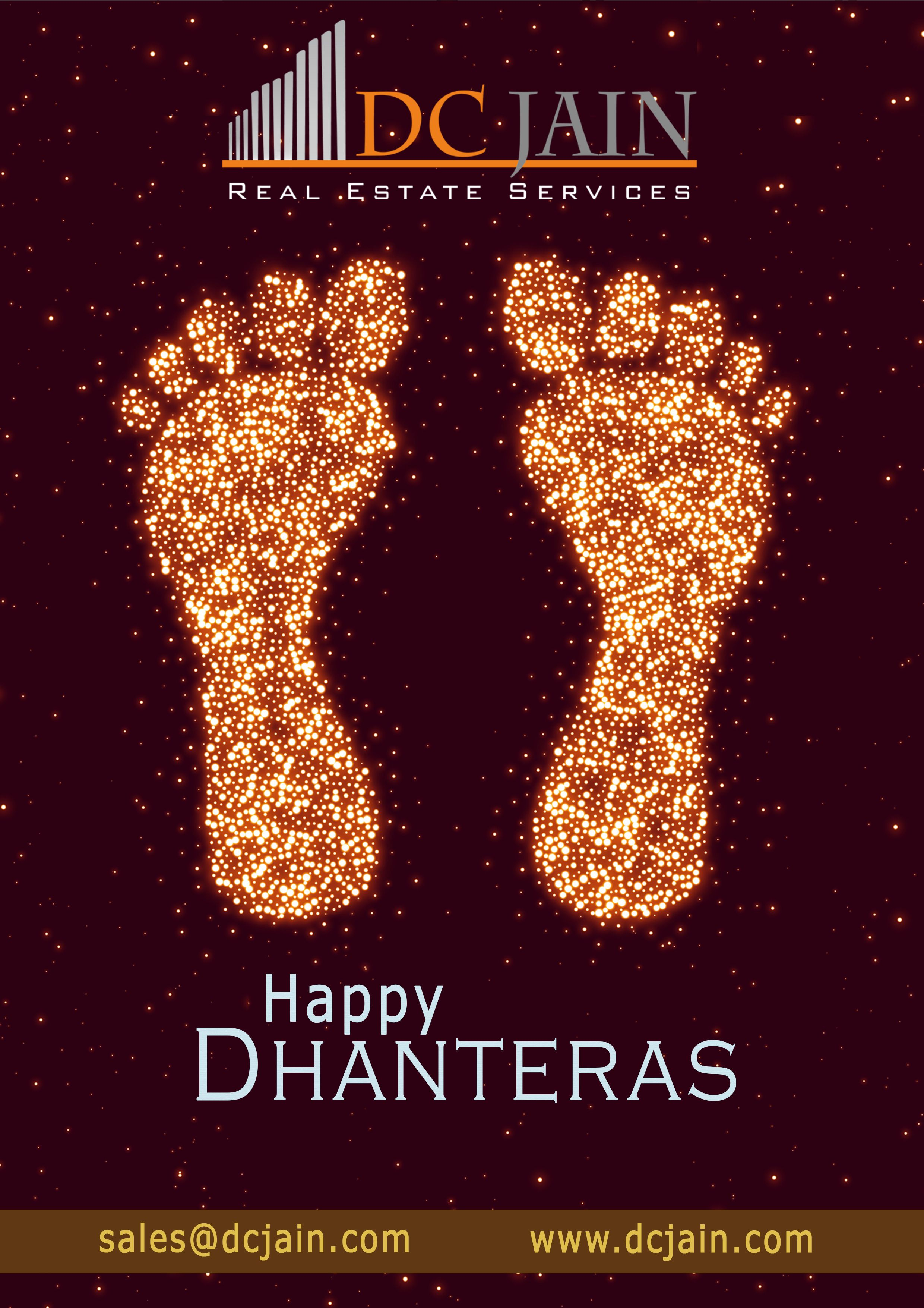 Greetings to all on the auspicious occasion of Dhanteras