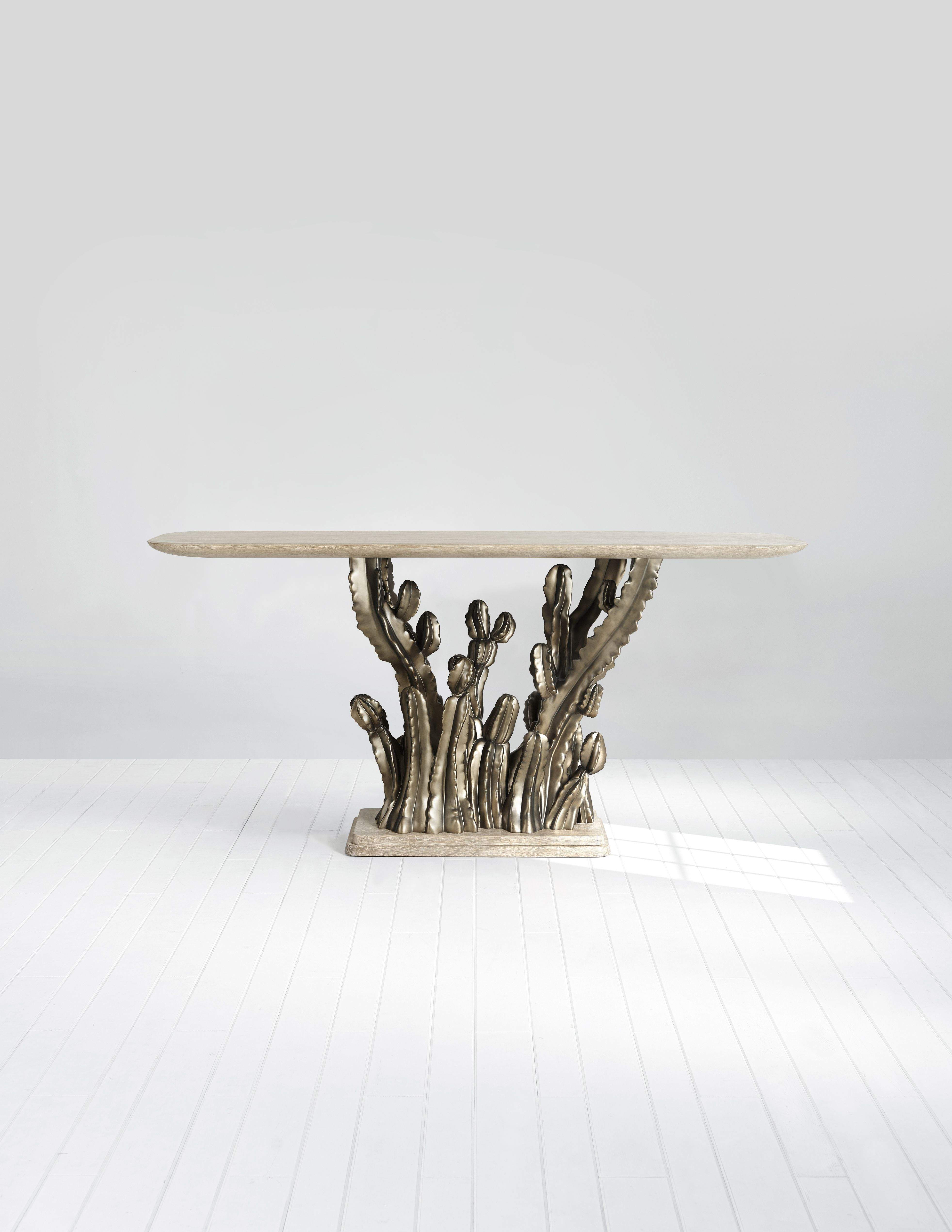 """Theodore Alexander Cactus Console """"This console shows my love for"""