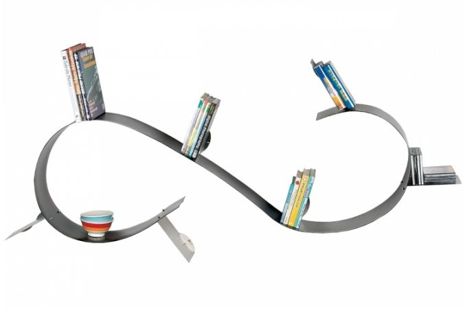 Etagère Vague Kare Design En Polypropylène Flexible Anaconda Deco