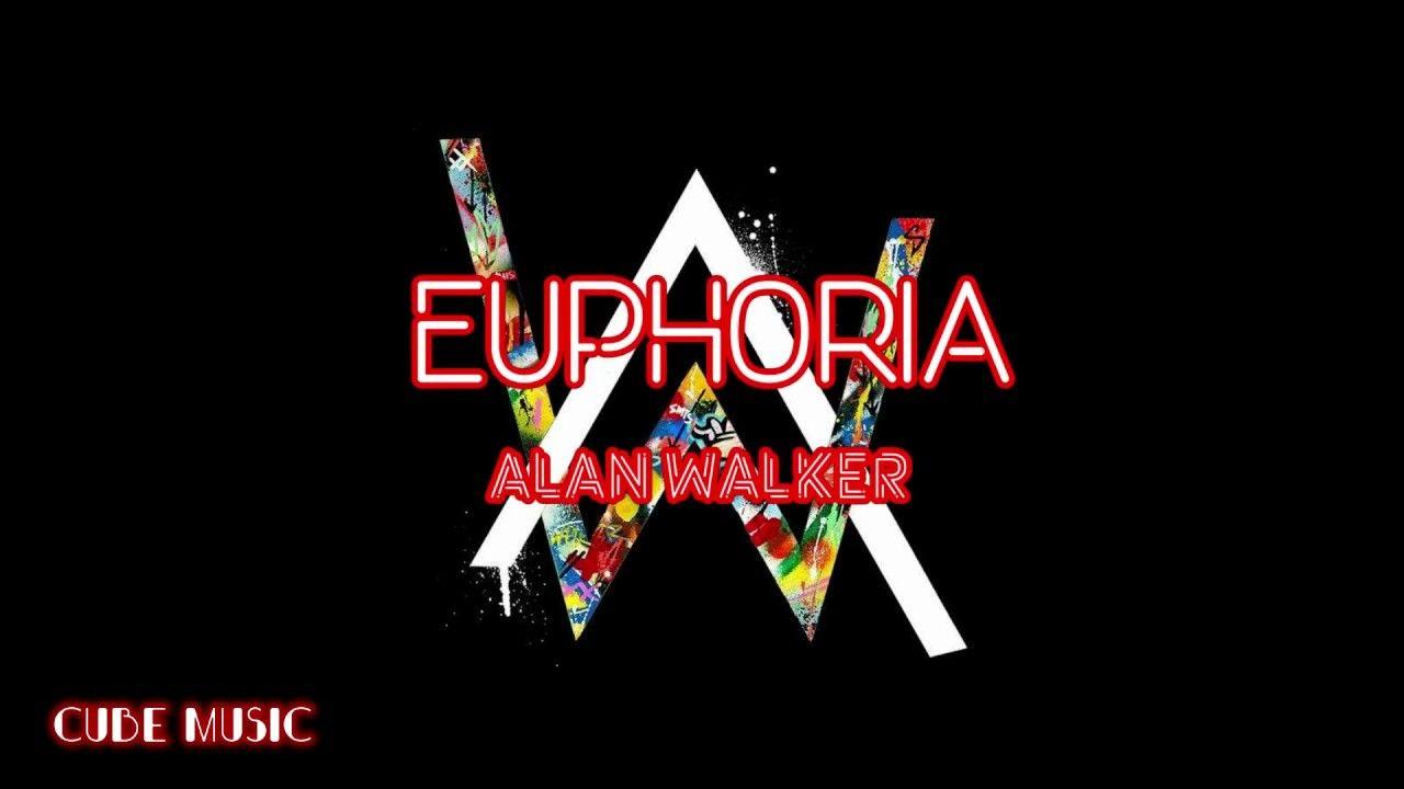 Alan Walker Euphoria Official Lyrics Video With Images Post