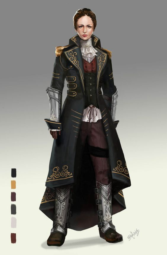 Game Character Design Contest : The order contest entry by greyradian australia