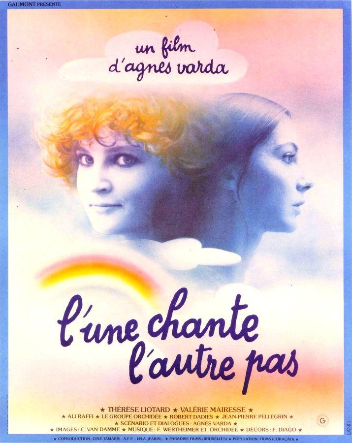 L'UNE CHANTE L'AUTRE PAS; Original poster.