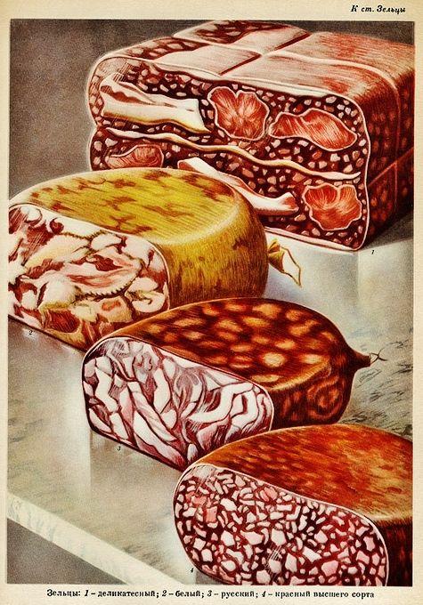 via soviet foodstuff catalogue english russia