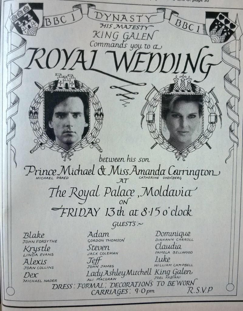 Invitation To The Royal Wedding Dynasty Pinterest Royal Weddings